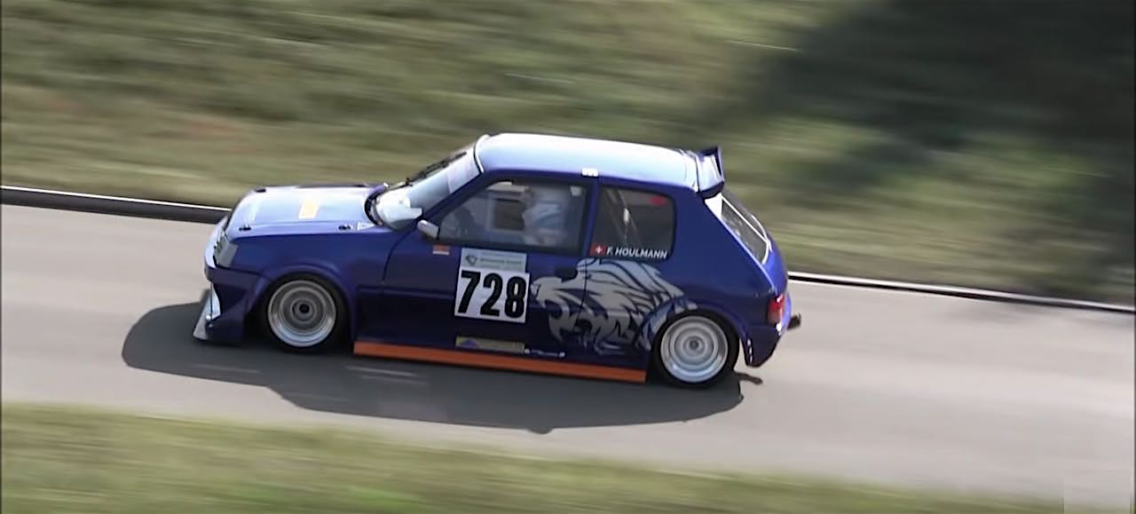 Engine sound : Peugeot 205 GTI en ITB... Viol auditif de 260 ch à 9000 trs ! 8