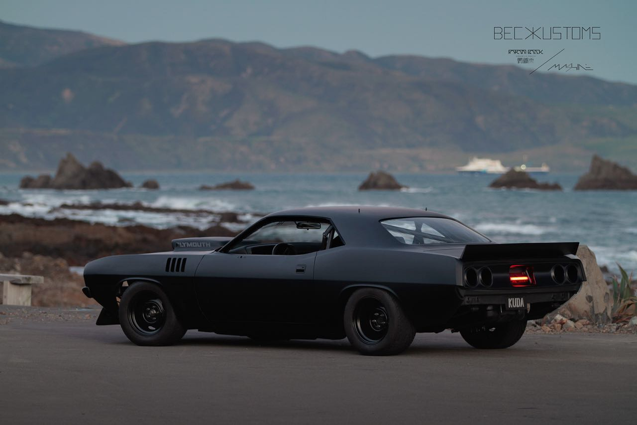 '73 Plymouth Barracuda - Kuda by Beck Kustoms 49