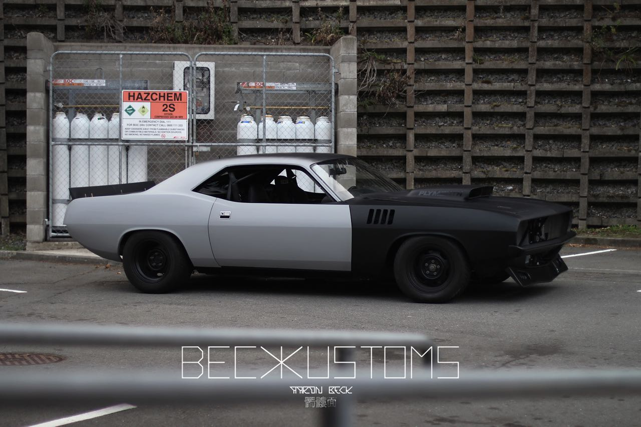 '73 Plymouth Barracuda - Kuda by Beck Kustoms 50