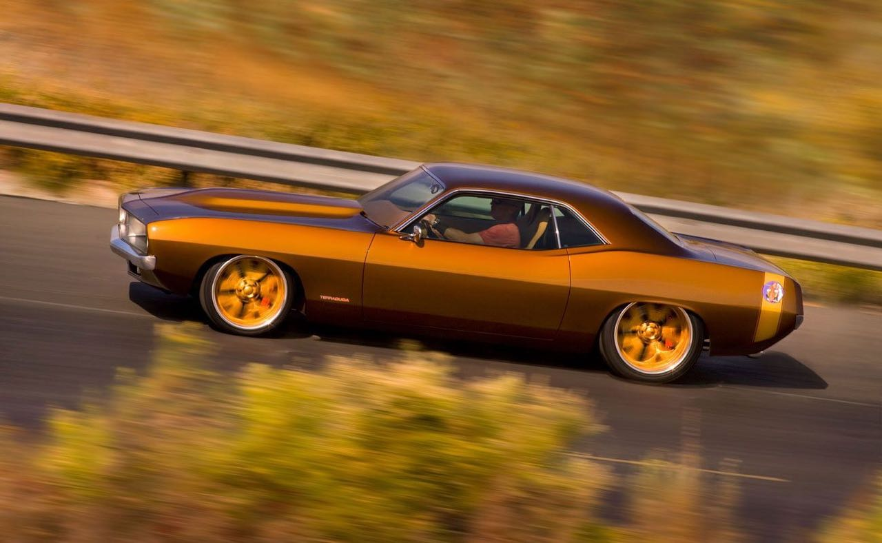 '70 Plymouth Barracuda : Terracuda by Chip Foose 9