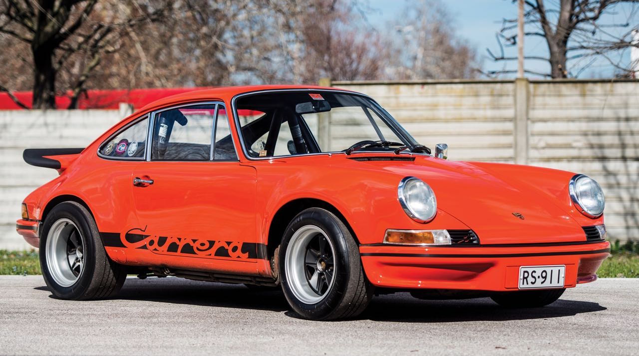 '73 Porsche 911 Carrera RS 2.7... Du outlaw Matching Number ! 3