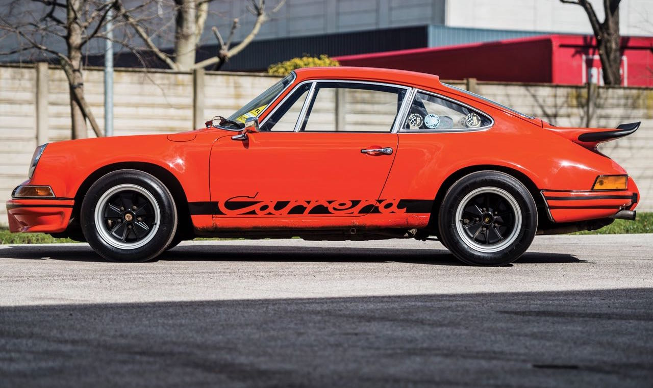 '73 Porsche 911 Carrera RS 2.7... Du outlaw Matching Number ! 7