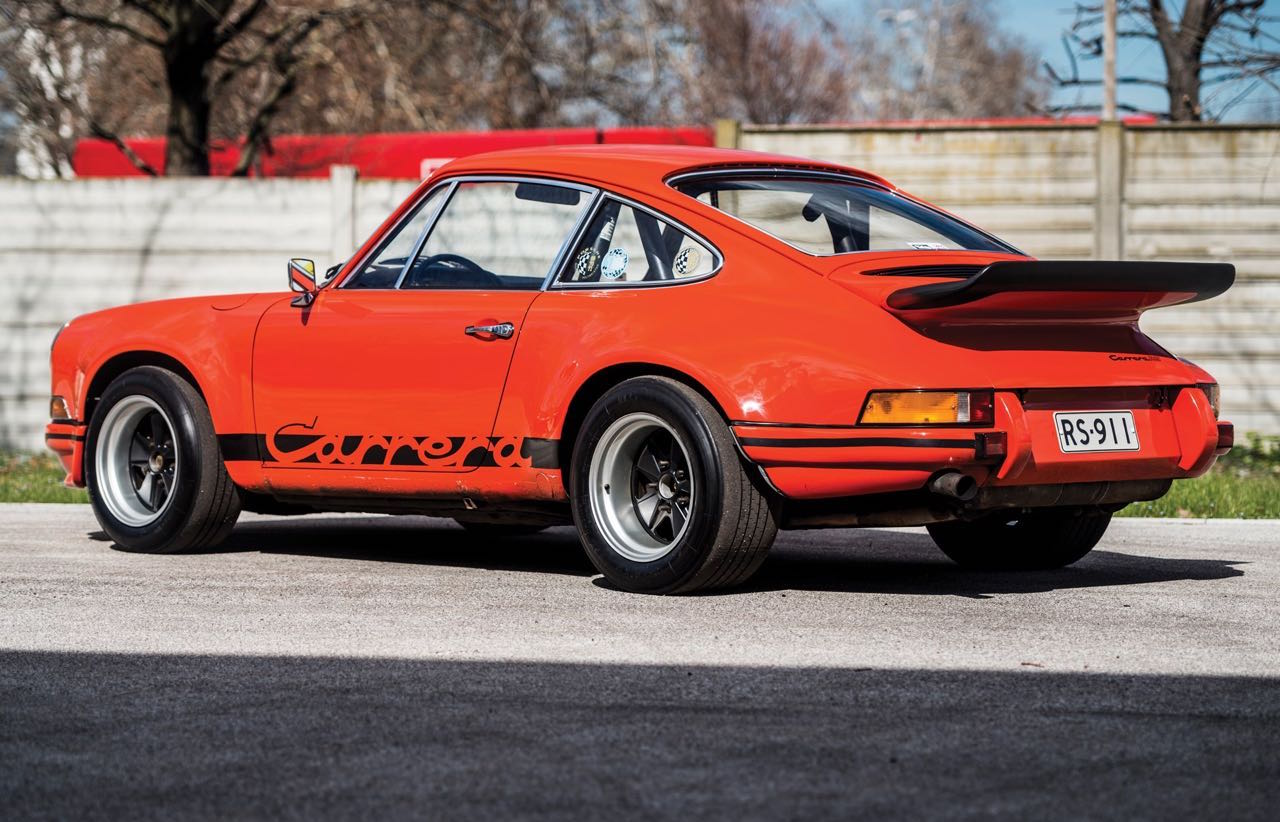 '73 Porsche 911 Carrera RS 2.7... Du outlaw Matching Number ! 16