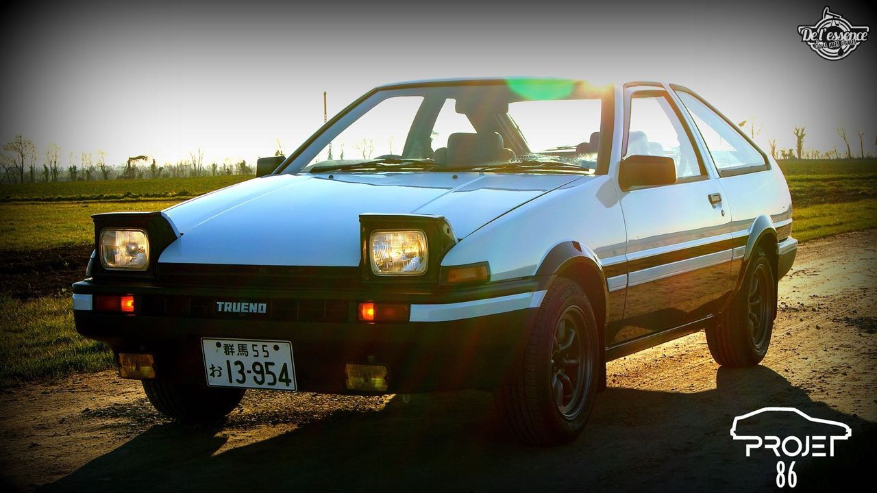 La Toyota AE86 de Quentin - Takumi habite en Normandie ! 11