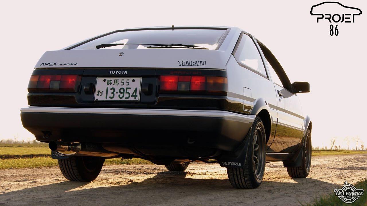 La Toyota AE86 de Quentin - Takumi habite en Normandie ! 3