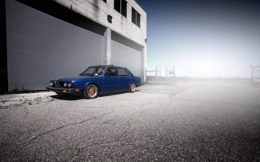 '84 BMW 528e – Klasse Eco !