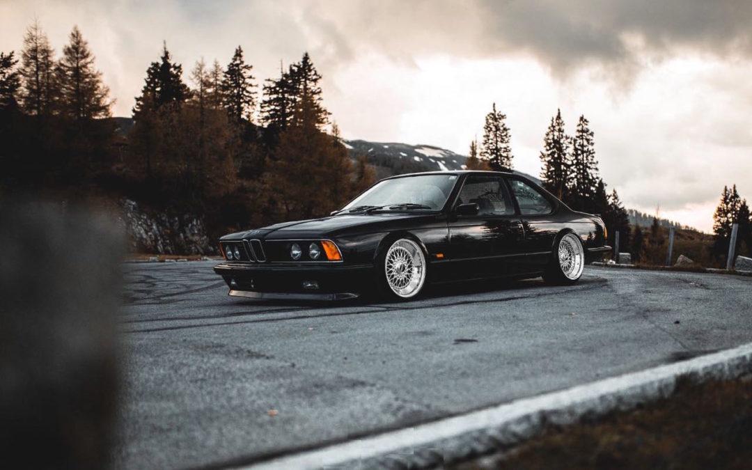 BMW 635 Csi E24 – Voiture de fonction…!
