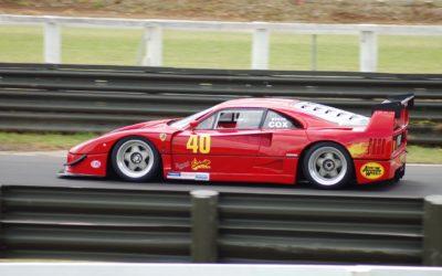 Hillclimb Monster : Ferrari F40 LM… en V8 Lexus Biturbo… WTF ?!