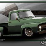 '53 Ford F100 Custom - Le fermier des villes !