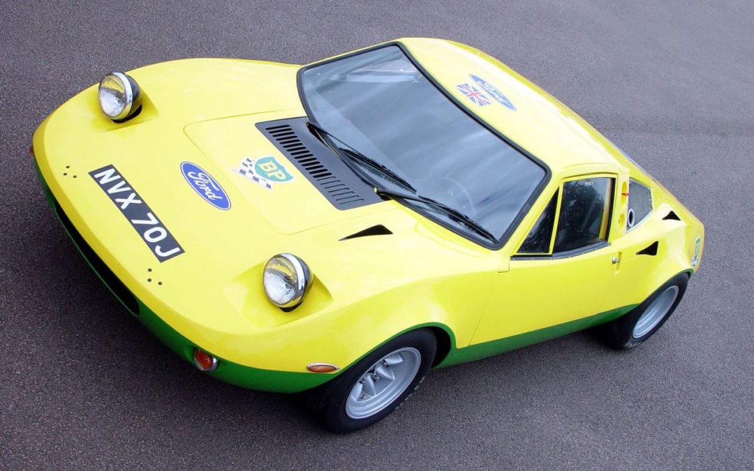 Ford GT70… Après les circuits, le rallye !