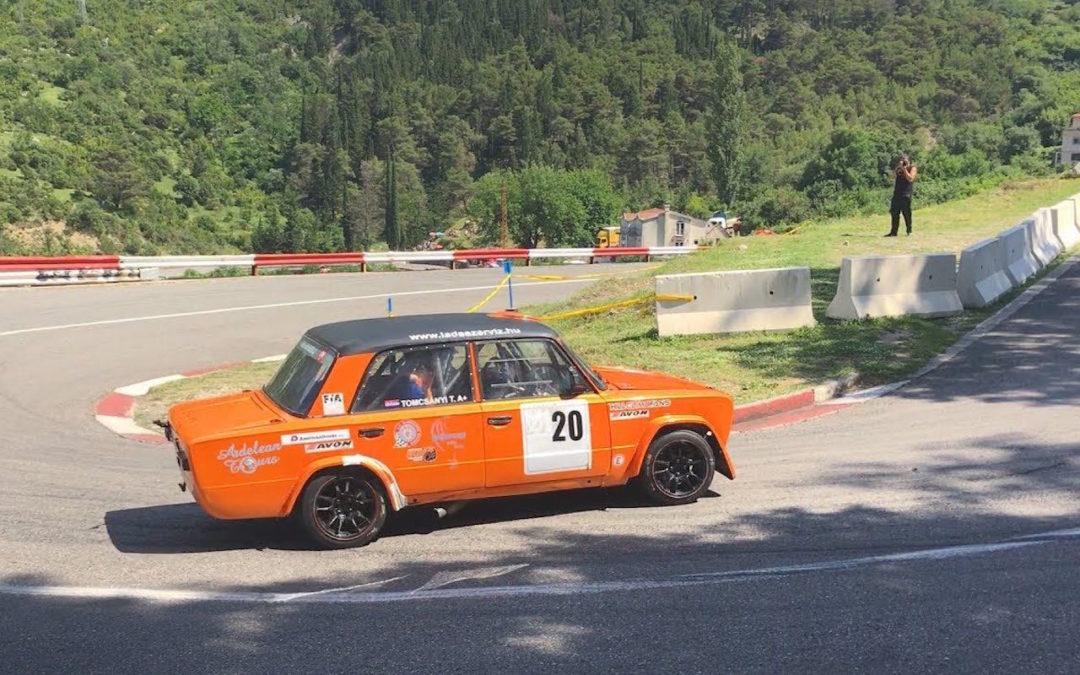 Hillclimb Monster : Lada VFTS… Rigolez pas, c'est une Groupe B !