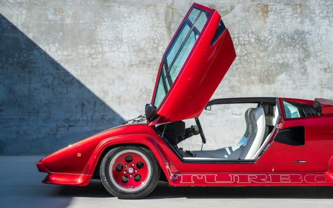 '80 Lamborghini Countach S Turbo… Une belle histoire !