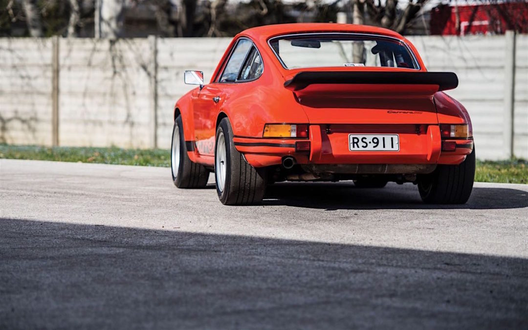 '73 Porsche 911 Carrera RS 2.7… Du outlaw Matching Number !