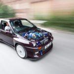 Renault Clio Cosworth... Sont fous ces anglais !