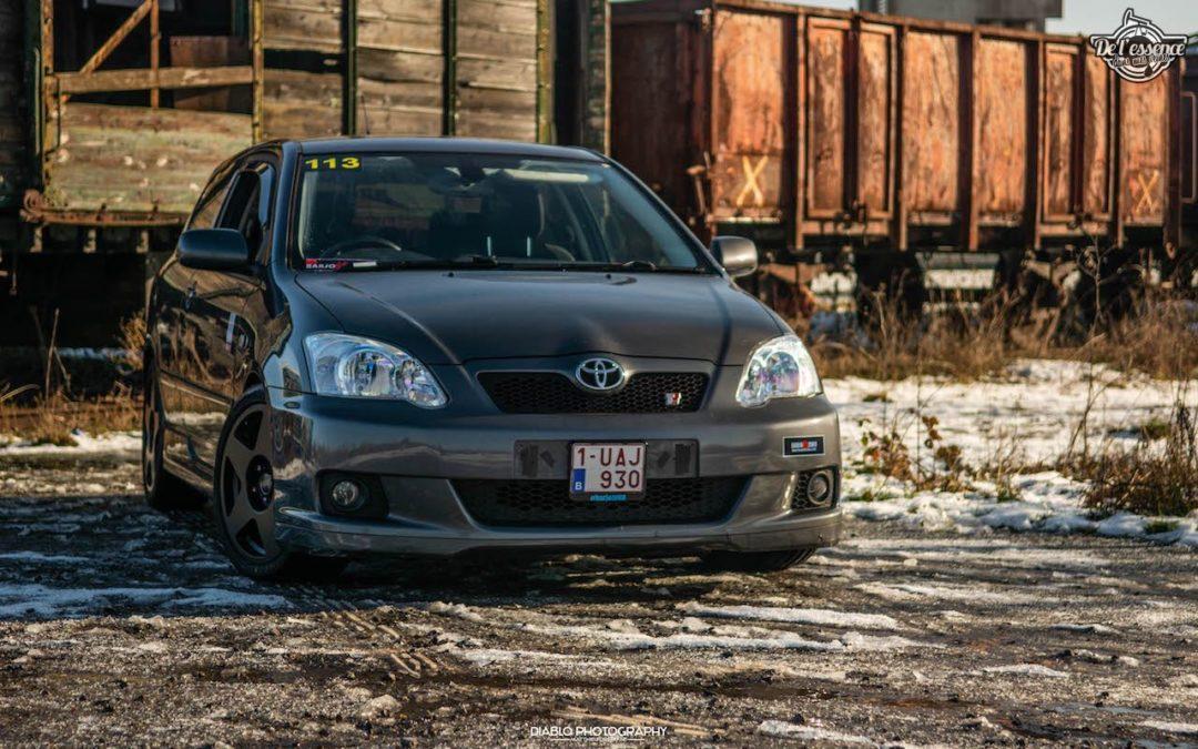 Toyota Corolla TTE Compressor… Le couple c'est bien aussi !