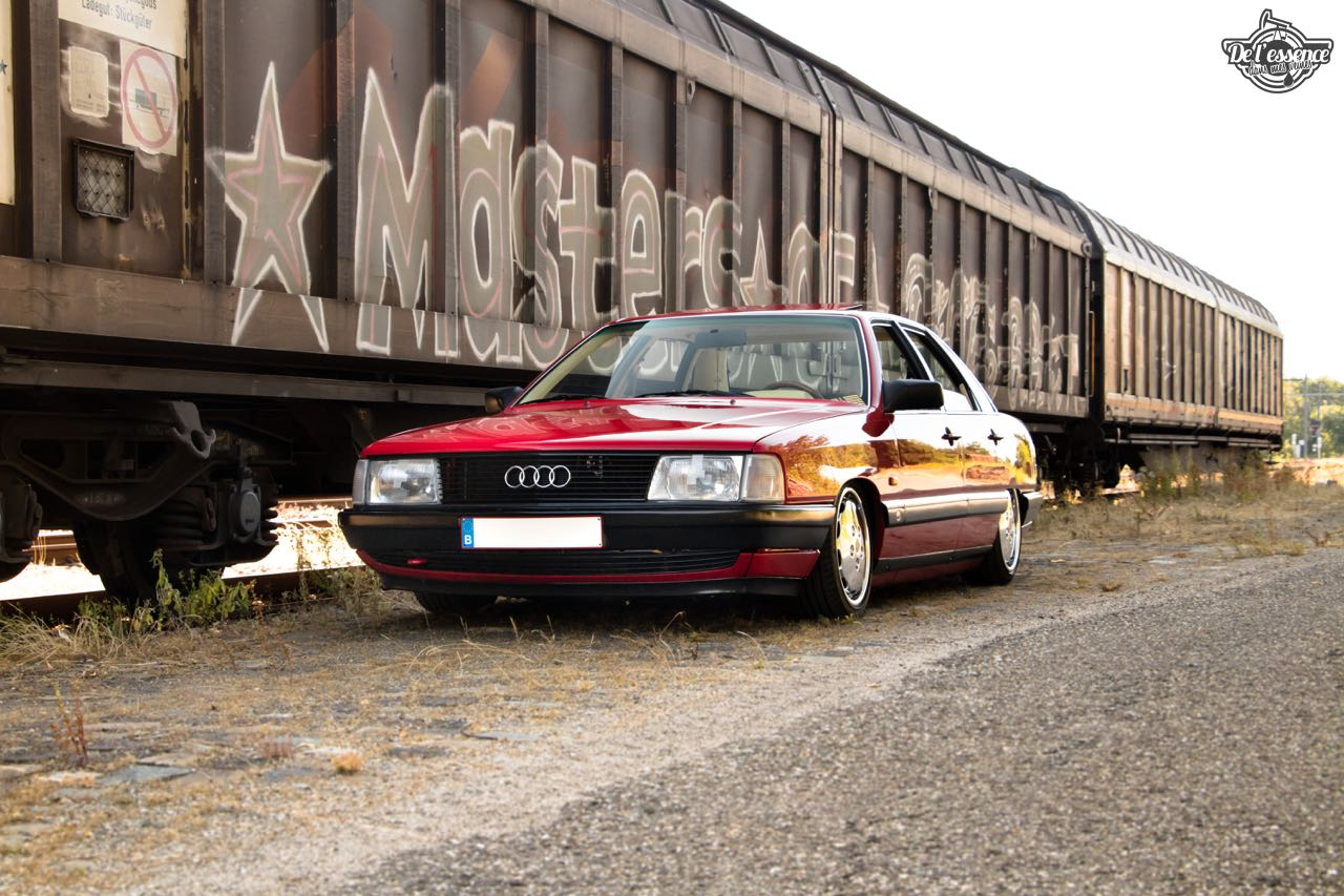 Bagged Audi 100 - Merci Papi ! 31
