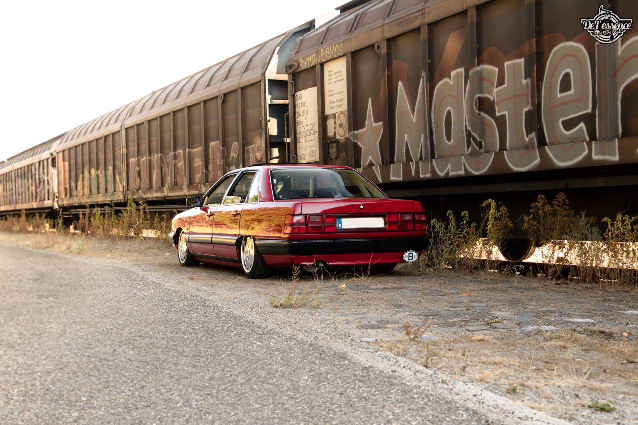 Bagged Audi 100 - Merci Papi ! 33