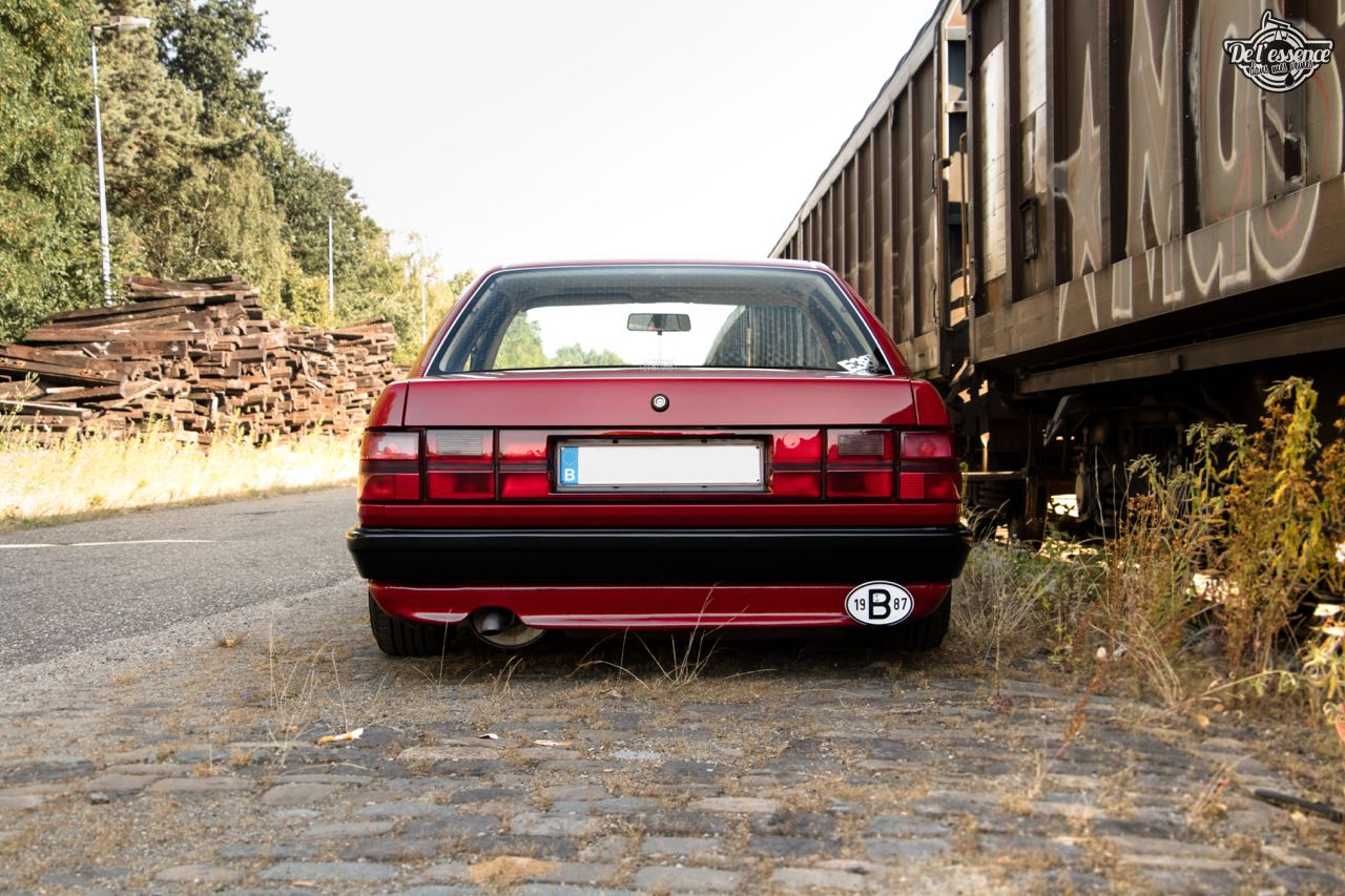 Bagged Audi 100 - Merci Papi ! 34