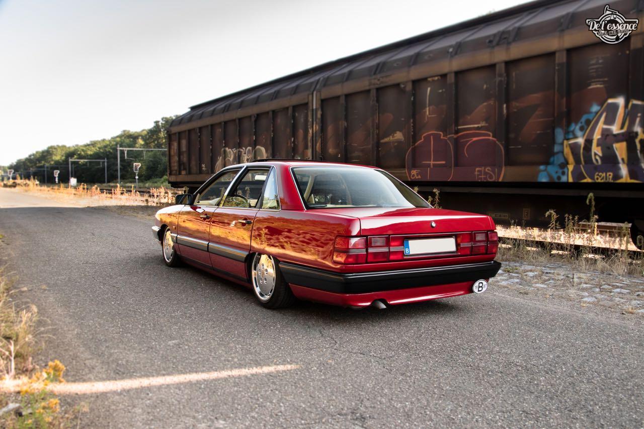 Bagged Audi 100 - Merci Papi ! 36