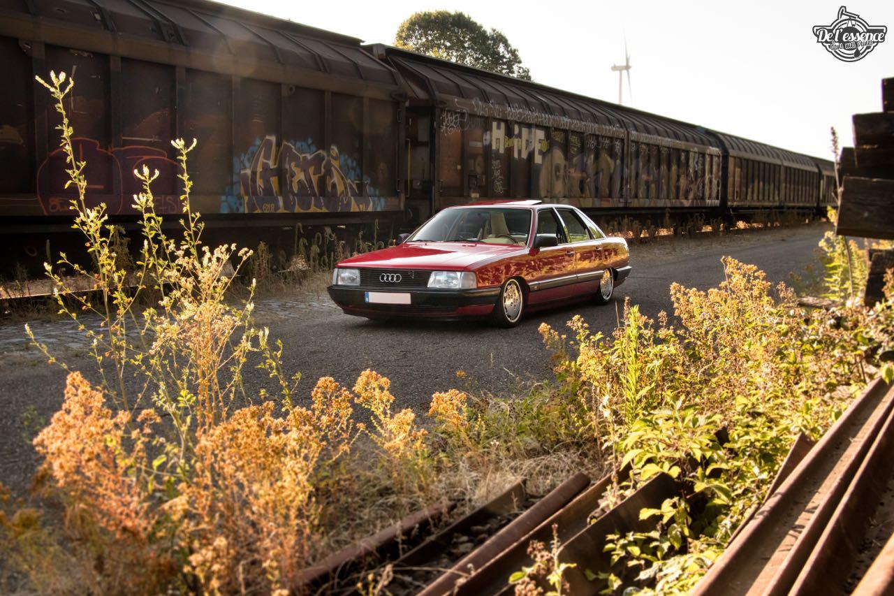 Bagged Audi 100 - Merci Papi ! 49