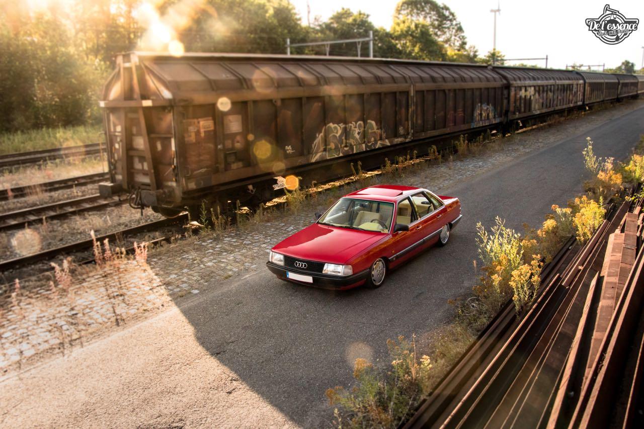 Bagged Audi 100 - Merci Papi ! 32