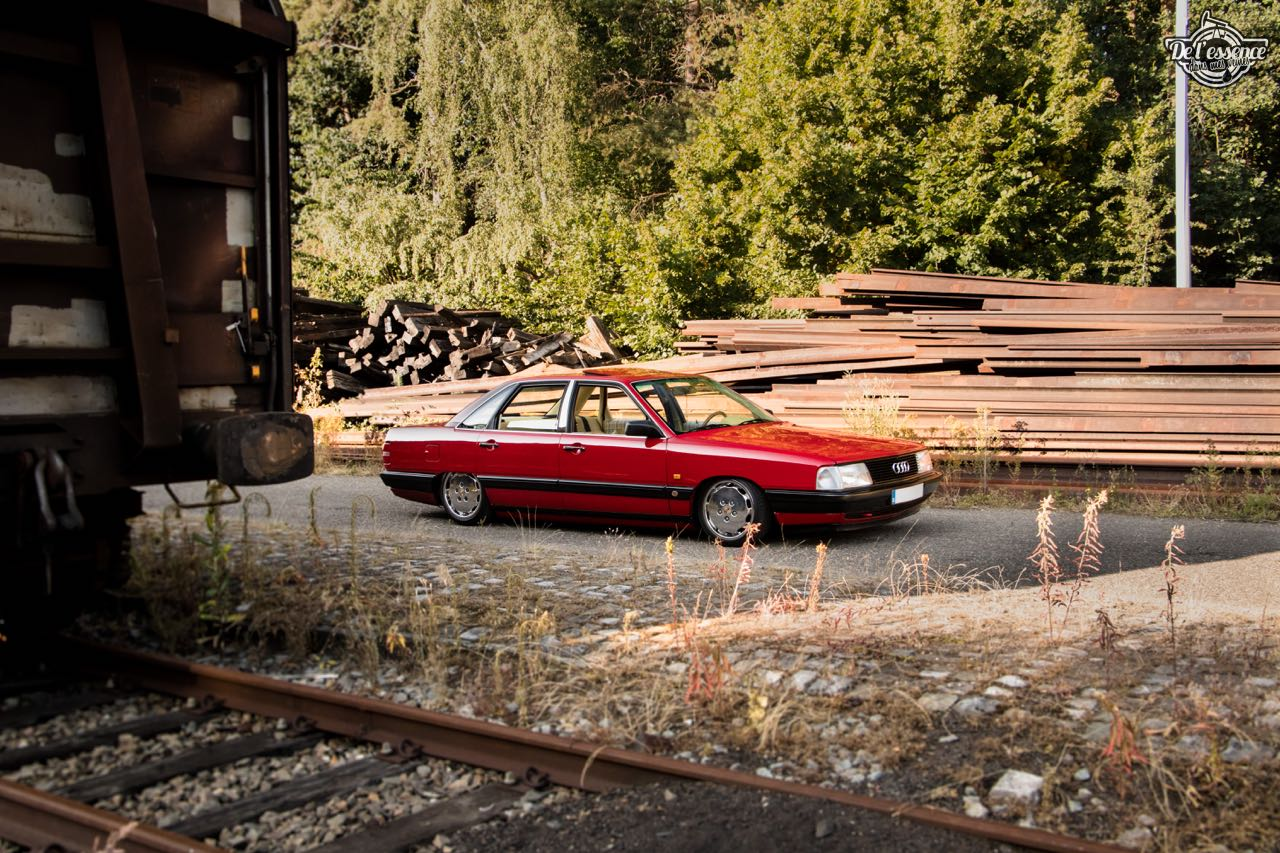 Bagged Audi 100 - Merci Papi ! 63
