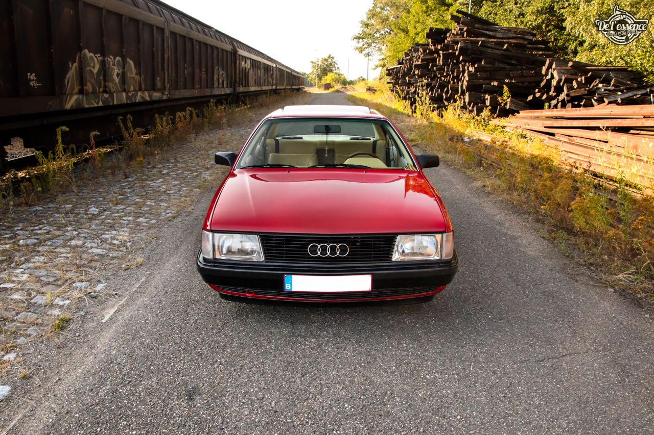 Bagged Audi 100 - Merci Papi ! 62