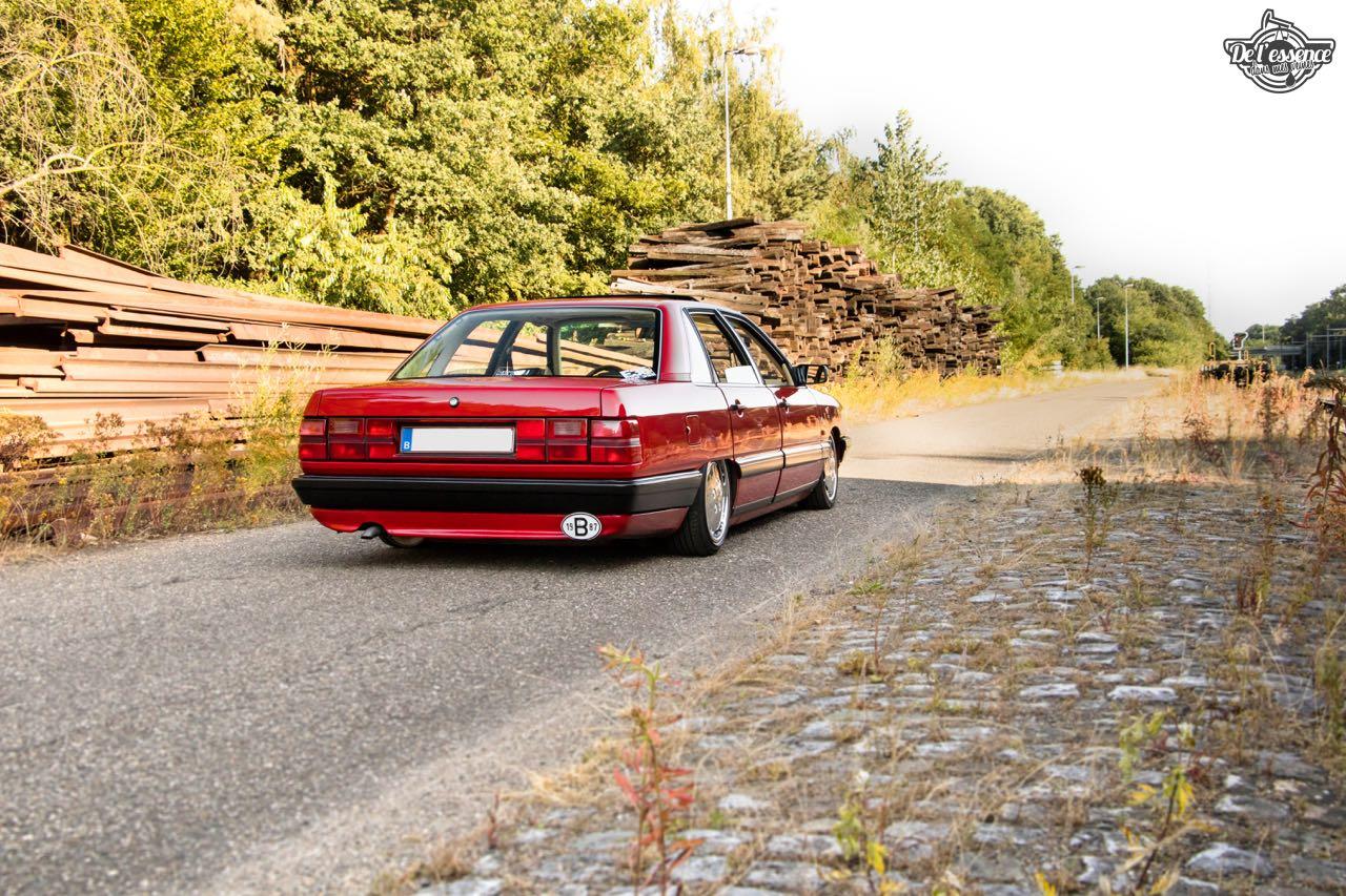 Bagged Audi 100 - Merci Papi ! 61