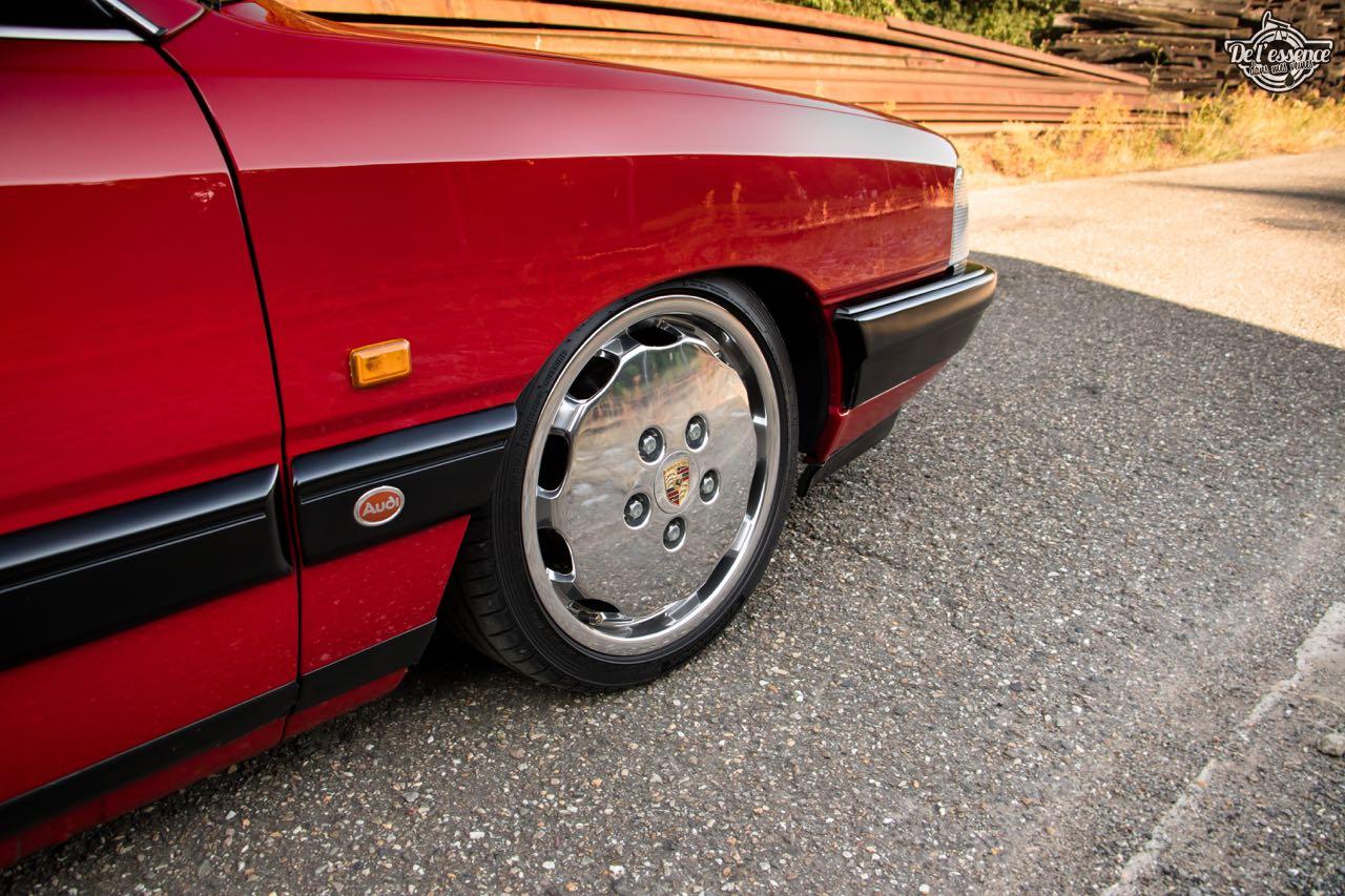 Bagged Audi 100 - Merci Papi ! 56