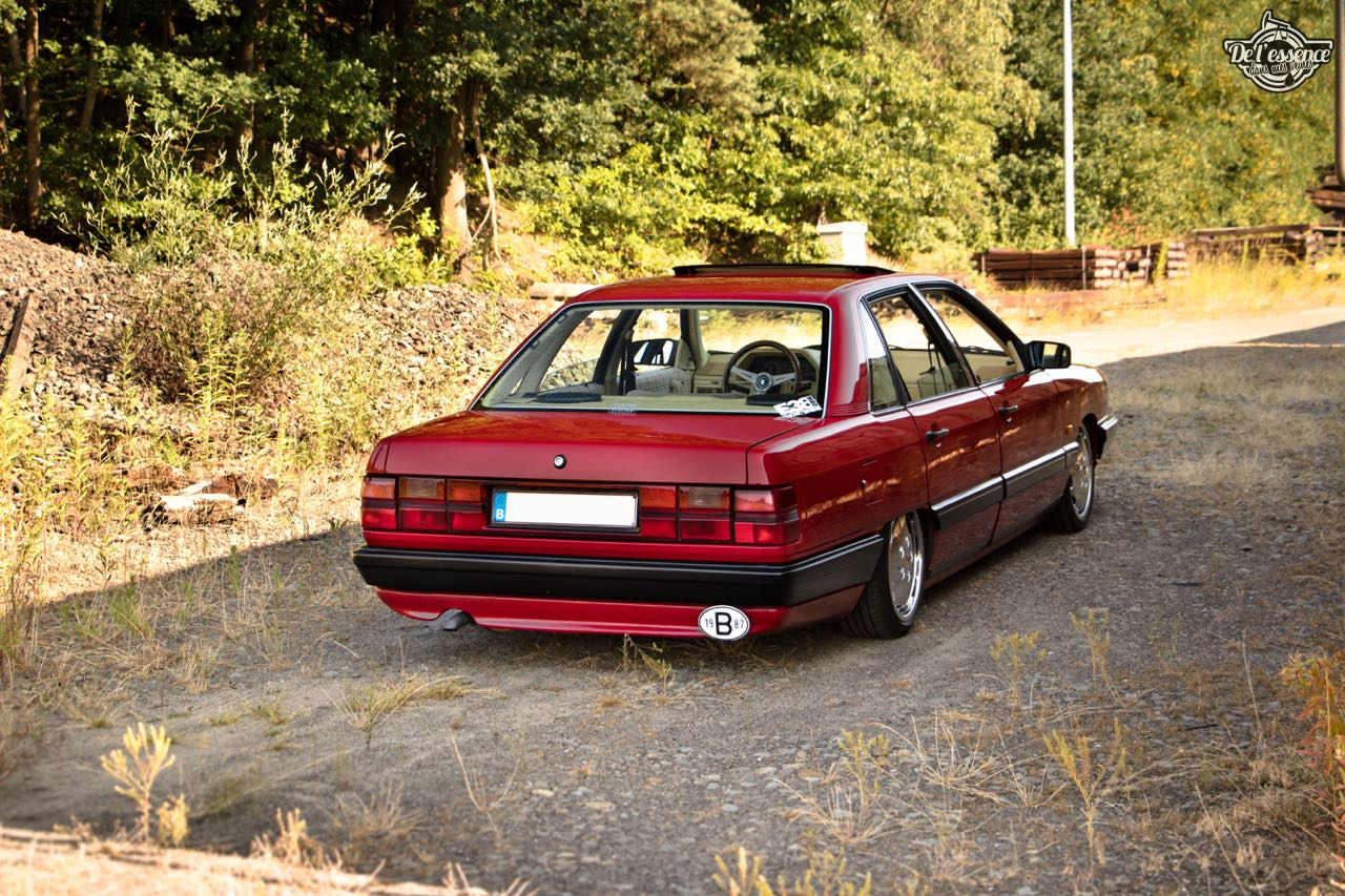 Bagged Audi 100 - Merci Papi ! 60