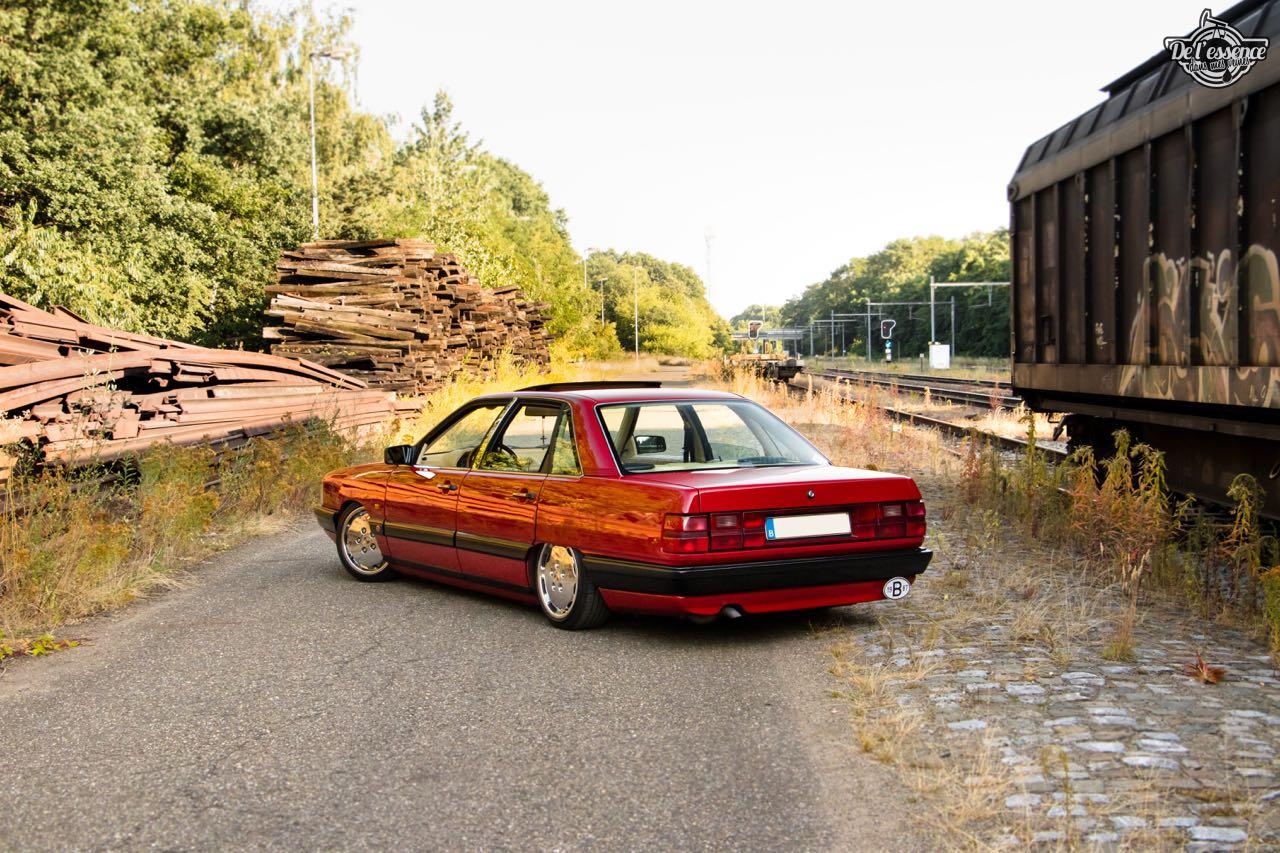 Bagged Audi 100 - Merci Papi ! 58