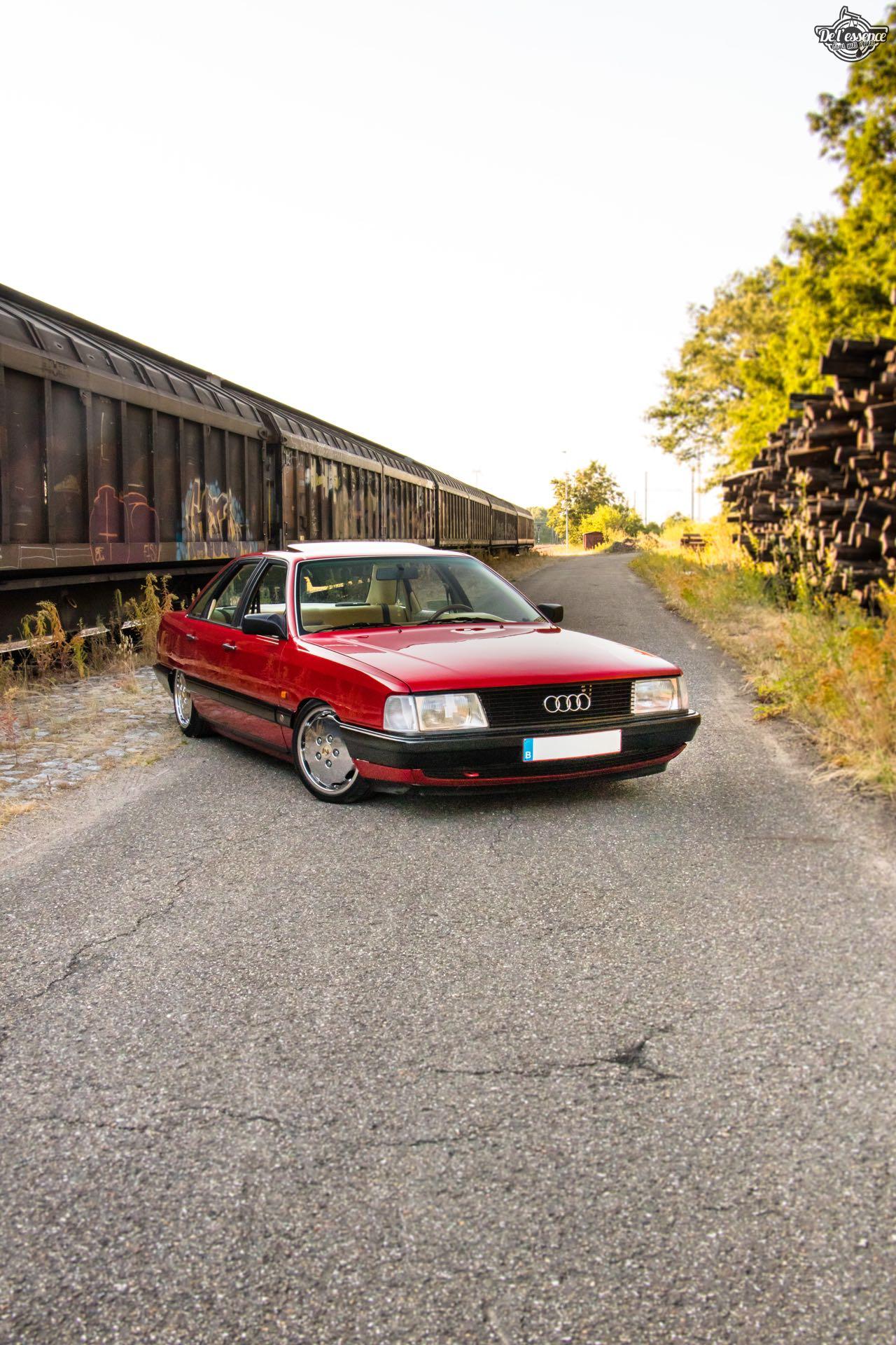 Bagged Audi 100 - Merci Papi ! 59