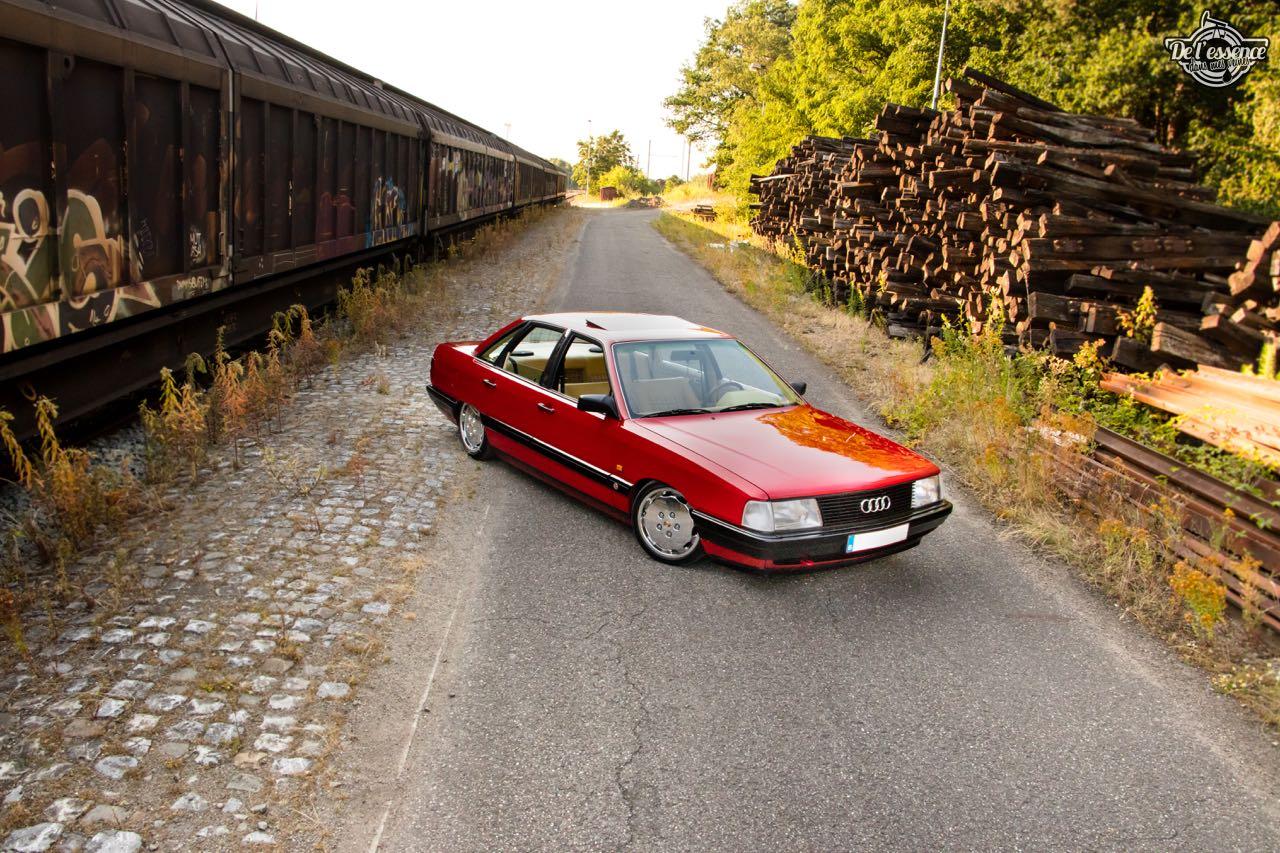 Bagged Audi 100 - Merci Papi ! 57