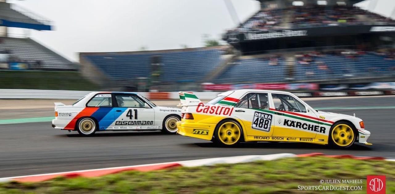 Mercedes 190 2.5 vs BMW M3 E30... Duel en DTM ! 1