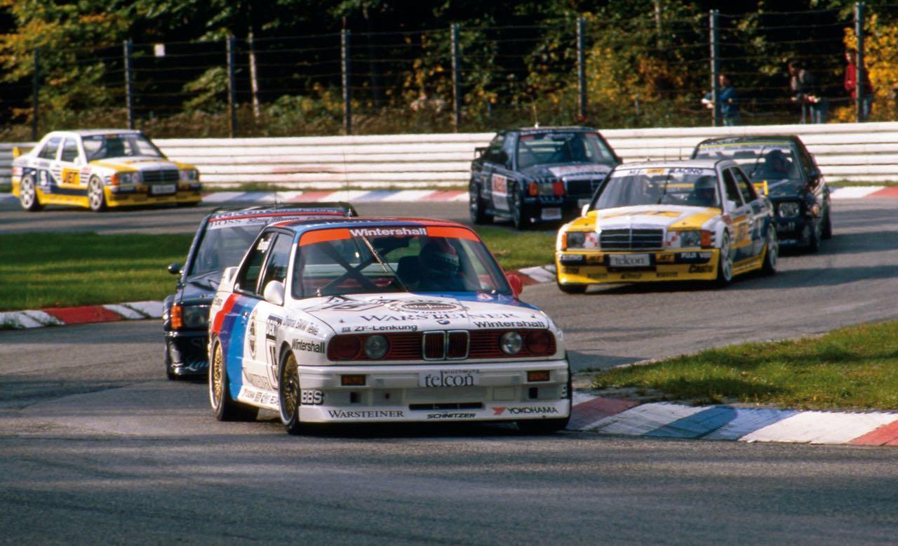 Mercedes 190 2.5 vs BMW M3 E30... Duel en DTM ! 3