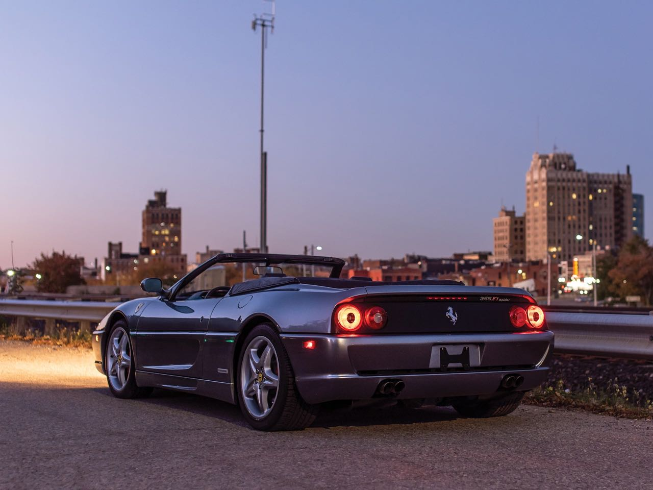 Ferrari F355 Serie Fiorano : 50% Challenge - 50% Berlinette... 100% Spider ! 3