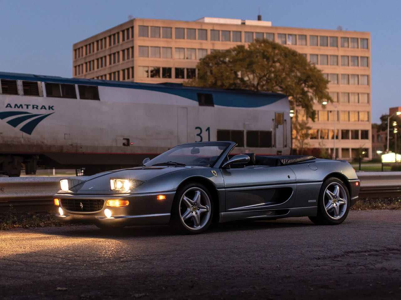 Ferrari F355 Serie Fiorano : 50% Challenge - 50% Berlinette... 100% Spider ! 12
