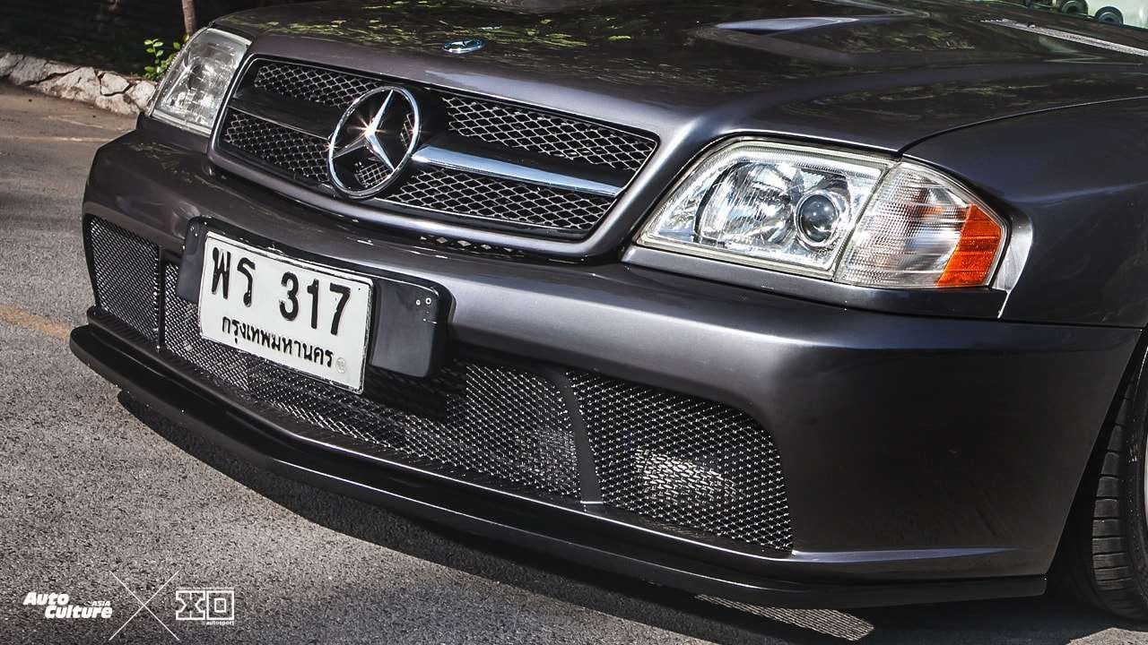 Mercedes 280 SL... Dévergondée ! 2