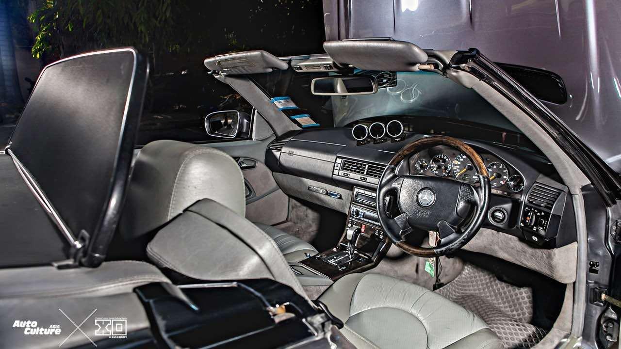 Mercedes 280 SL... Dévergondée ! 12