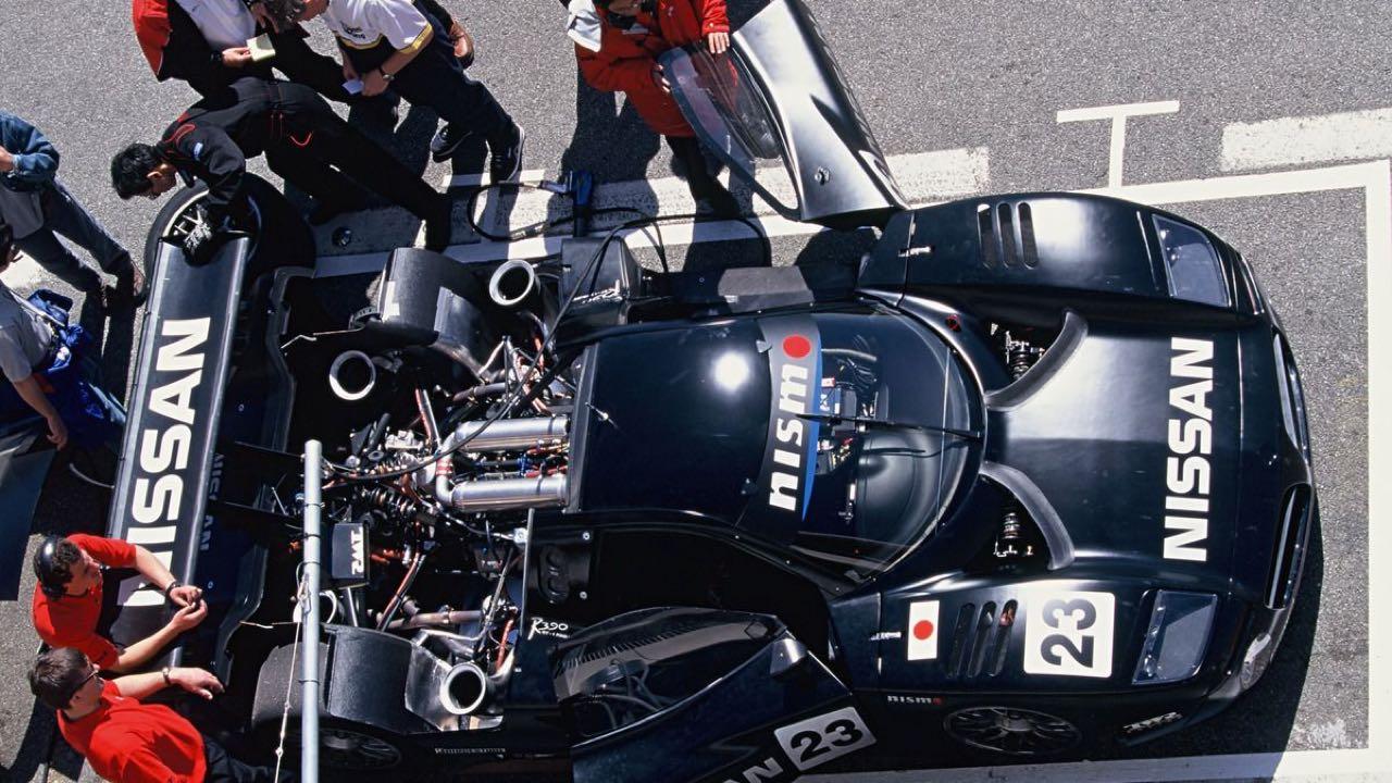 Nissan R390 GT1... La meilleure ! 10