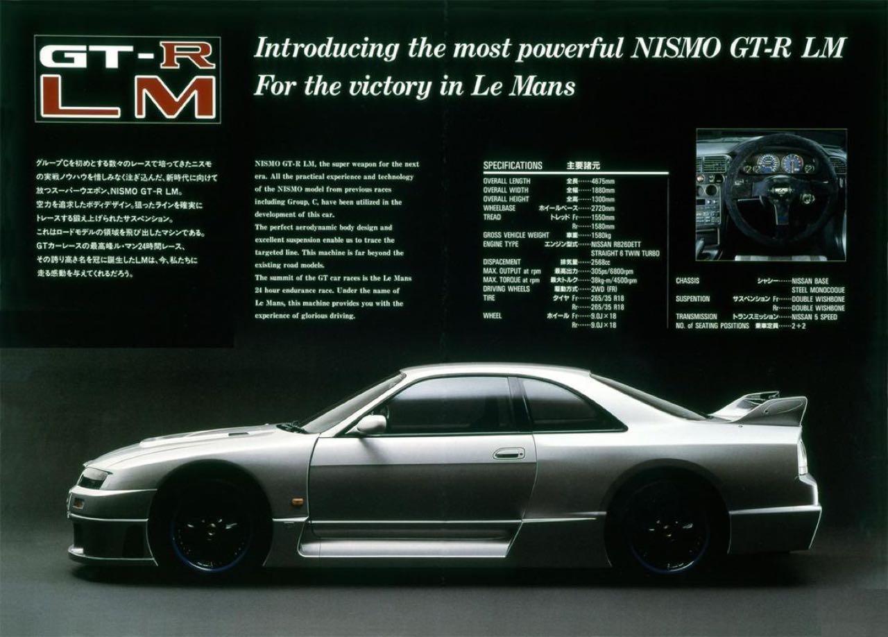 Nissan Skyline R33 LM... Quand Godzilla débarque dans la Sarthe ! 1