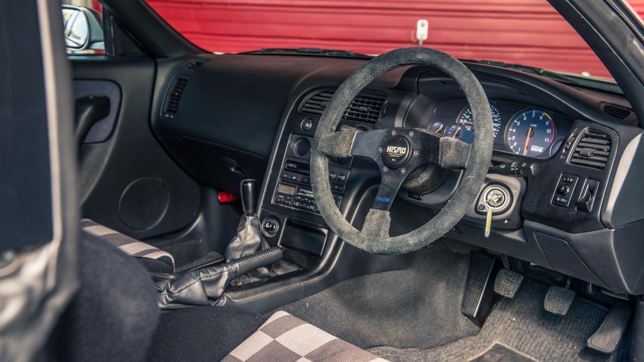 Nissan Skyline R33 LM... Quand Godzilla débarque dans la Sarthe ! 11