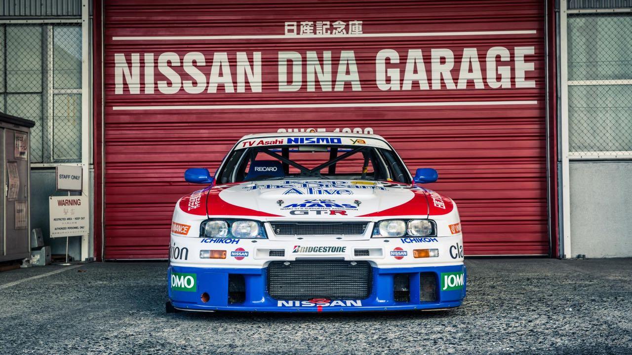 Nissan Skyline R33 LM... Quand Godzilla débarque dans la Sarthe ! 8