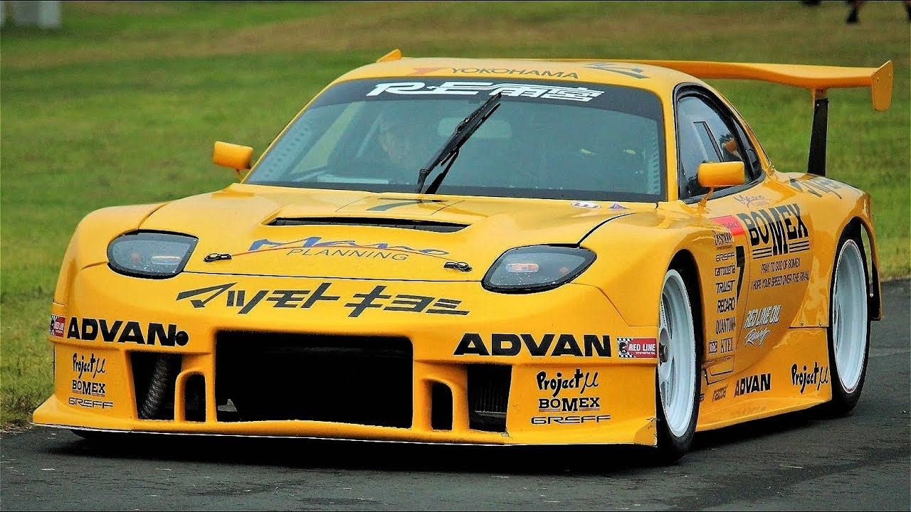 Engine Sound : Re Amemiya Mazda RX7 GT300... Gran Turismo Legend 2