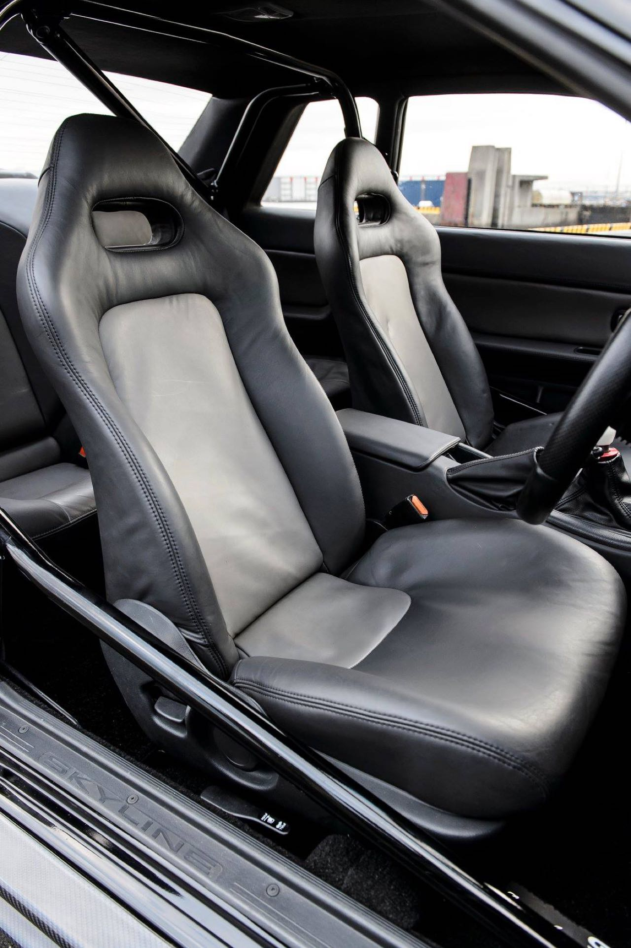 Nissan Skyline R32 GTR par Garage Active.... Full carbone ! 4