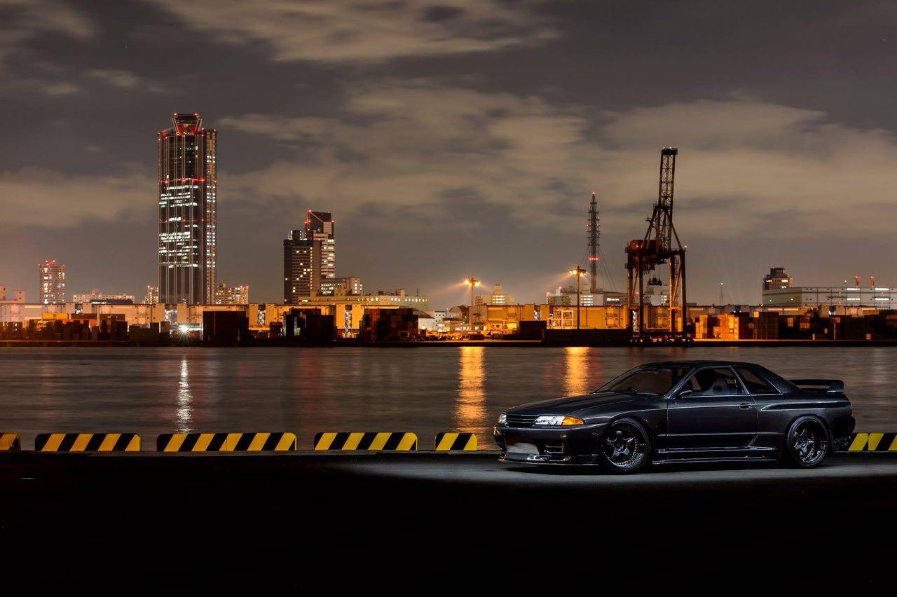 Nissan Skyline R32 GTR par Garage Active.... Full carbone ! 9