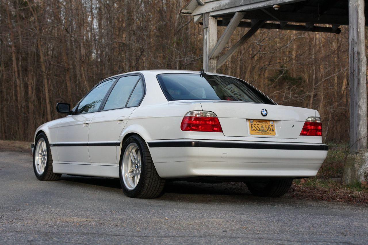 BMW Série 7 E38 en V8 M5 E39... L'alliance parfaite ? 20