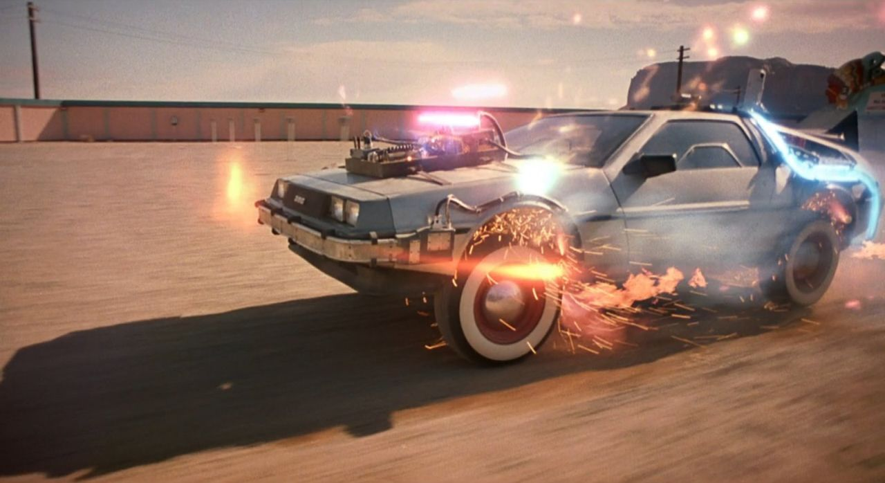 #Car Mytho : La DeLorean de Retour vers le futur... Nom de Zeus ! 26