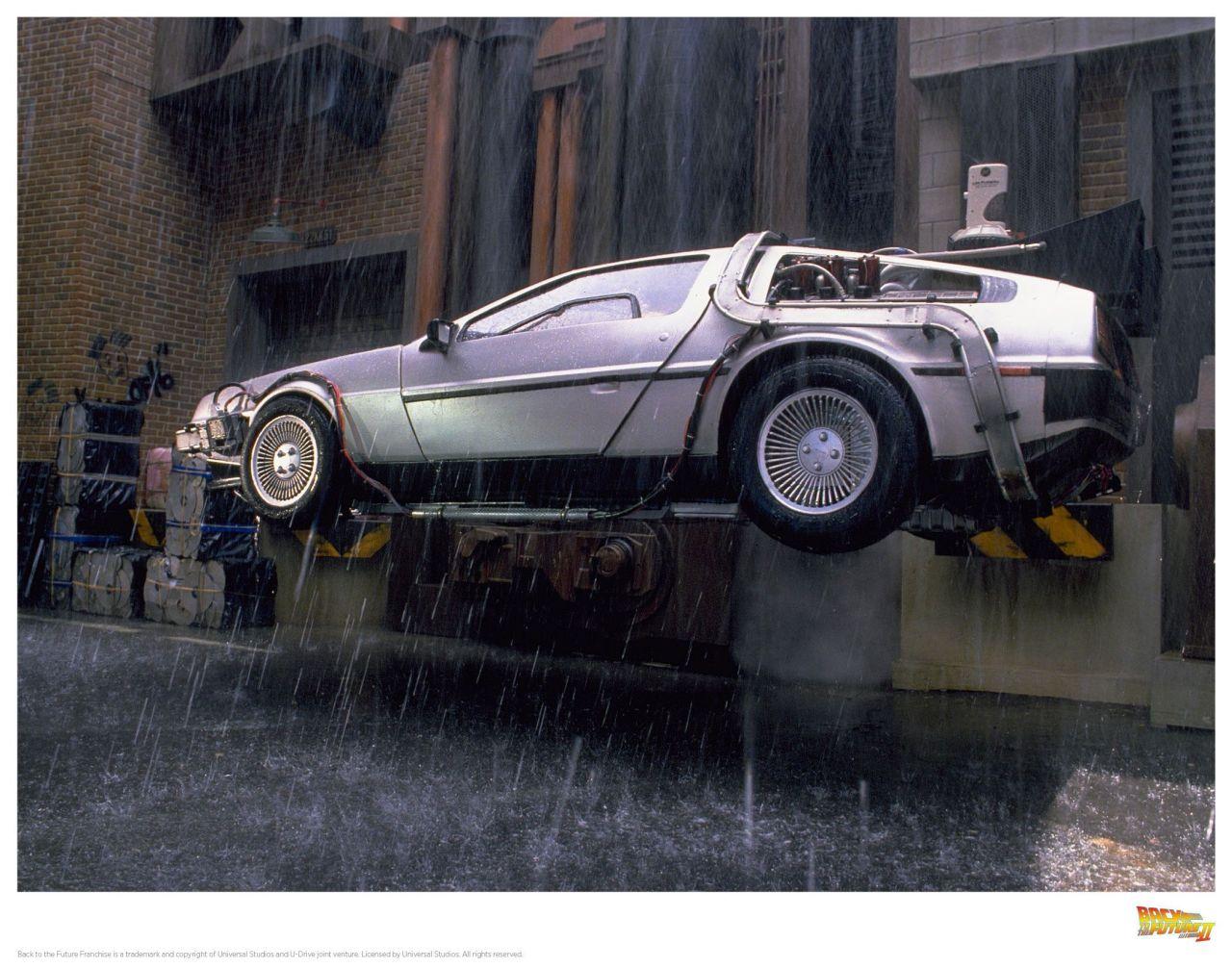 #Car Mytho : La DeLorean de Retour vers le futur... Nom de Zeus ! 27