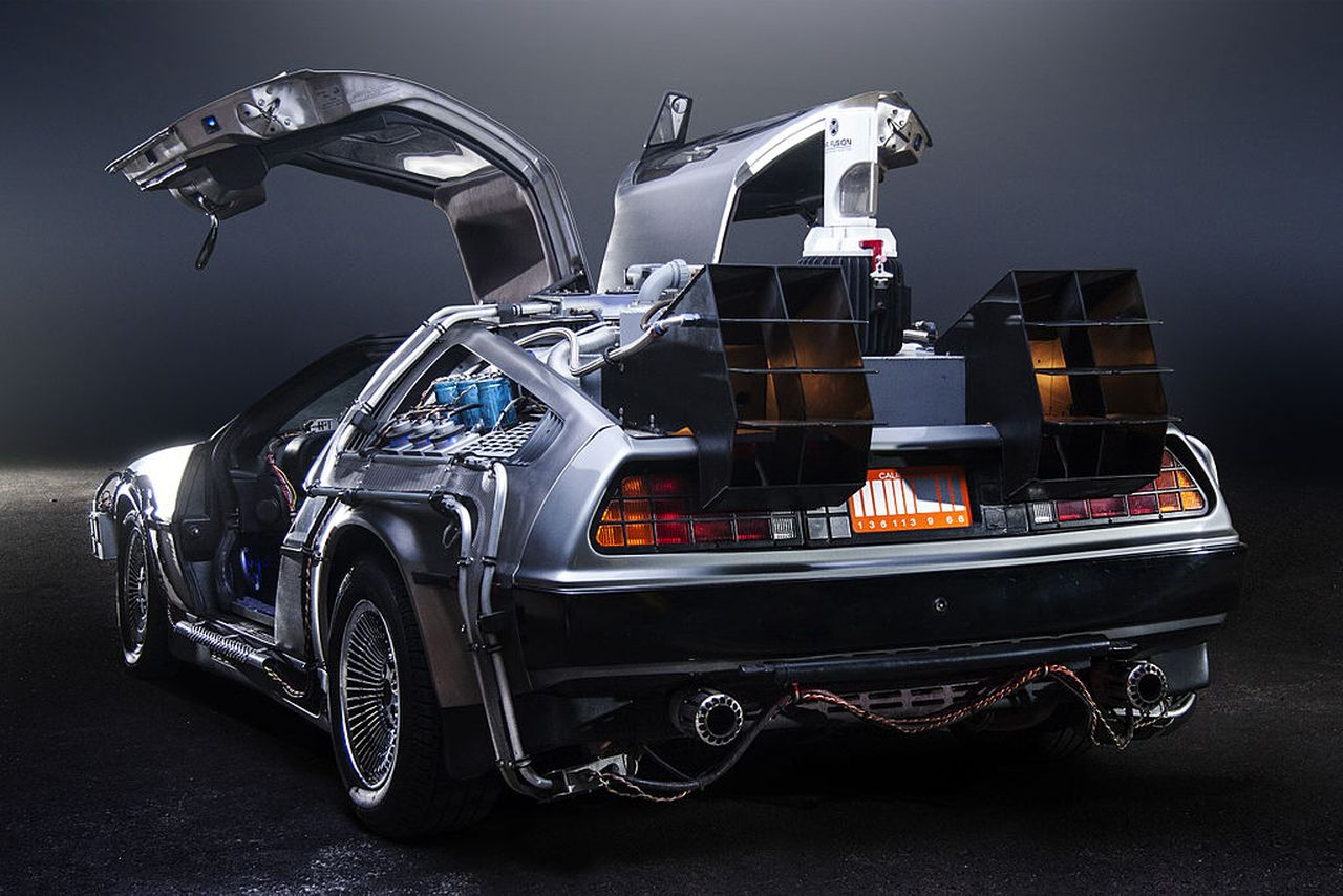 #Car Mytho : La DeLorean de Retour vers le futur... Nom de Zeus ! 33